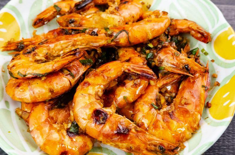 豉油皇煎蝦