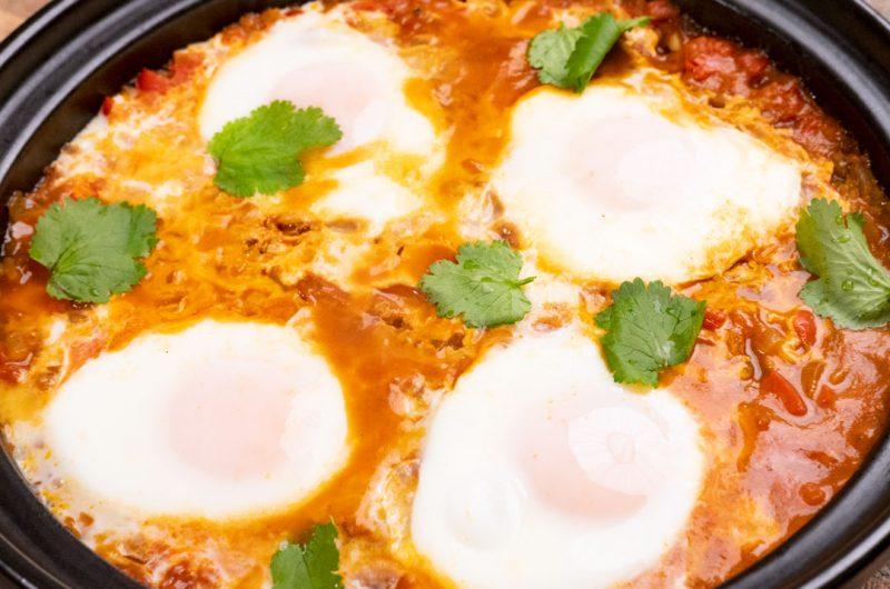 地中海風番茄紅醬燉蛋-夏卡蔬卡- Shakshuka-煉獄蛋