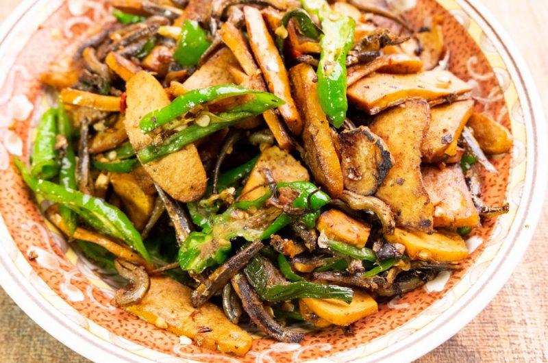 丁香豆干(糯米椒版)