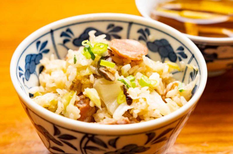 古早味台式高麗菜鹹飯(高麗菜飯)